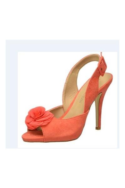 Mulet mujer Little Mistress coral con...